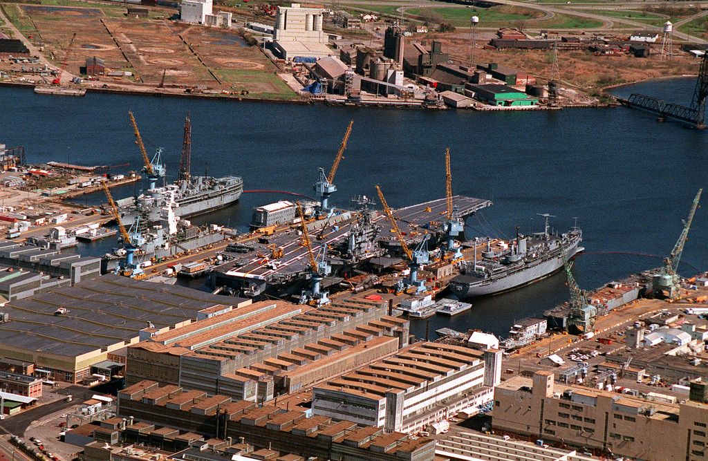 Norfolk Naval Shipyard uses a custom, all-in-one low-profile clamshell from Tri Tool to rapidly and